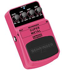 Behringer SM-400 Super Metal Bodeneffekt