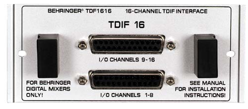 Behringer TDF-1616 TDIF-Interface