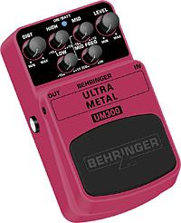 Behringer UM-300 Ultra Metal Bodeneffekt