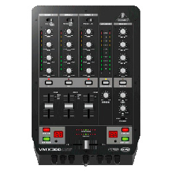 Behringer VMX300 USB DJ Mixer
