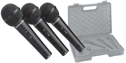 Behringer XM-1800 S Mikrofon 3er Pack