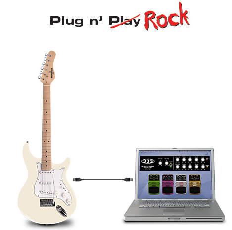Behringer iAXE-393 E-Gitarre mit integrierter USB-Schnittstelle