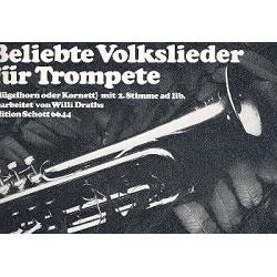 Beliebte Volkslieder für 1-2 Trompeten