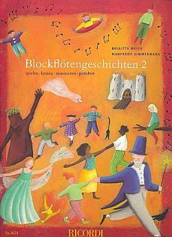 Blockflötengeschichten Bd.2 für Sopranflöte