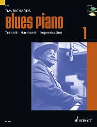 Blues Piano, Tim Richards ED 9695