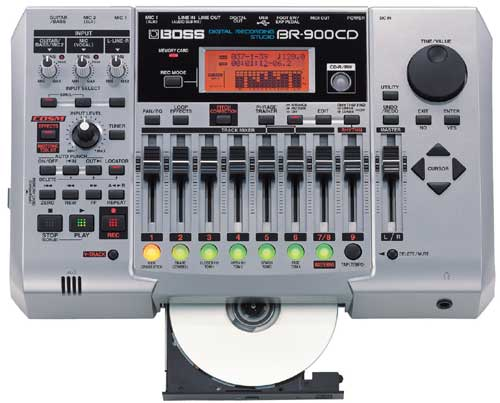Boss BR-900 CD Digital Recording Studio Version 2.0