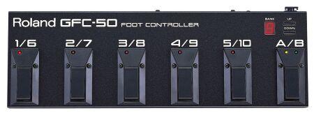 Boss GFC-50 Midifußleiste