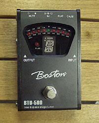 Boston BTU-500 Bodentuner True Bypass chromatisch