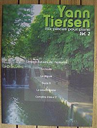 Bourges V. Six Pieces pour piano Volume 2 / Yann Tiersen