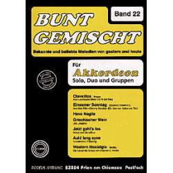 Bunt Gemischt Band 22