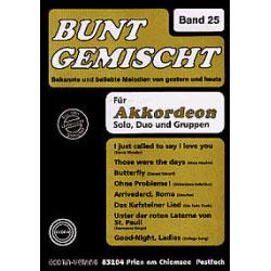 Bunt Gemischt Band 25