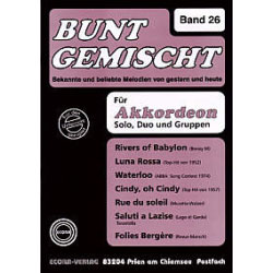 Bunt Gemischt Band 26