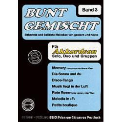 Bunt Gemischt Band 3