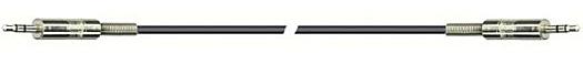 DREITEC Audio-Kabel Klinke - Klinke 3,5mm 1,5m stereo