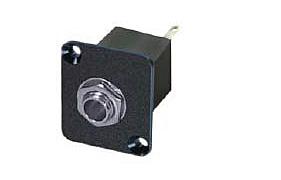 DREITEC Klinken-Einbaukupplung stereo 1504