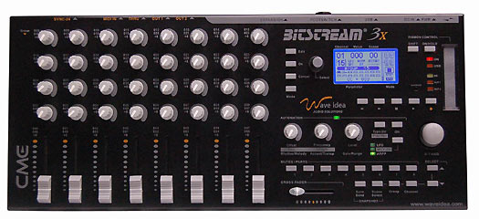 CME Bitstream 3X Midi Controller Groovebox