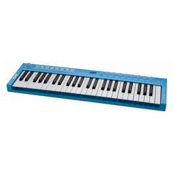 CME U-Key Midikeyboard 49 blue