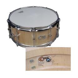 """Cazz-Snare 14"""" x  5,5"""" Marc Halbeer Snare"""