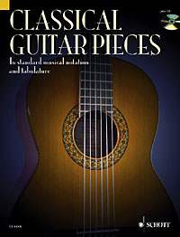 Classical Guitar Pieces + CD, Stephan Schmidt ED 9710