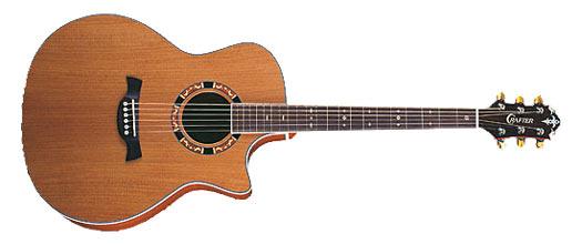 Crafter GAE-15 N Westerngitarre mit PU