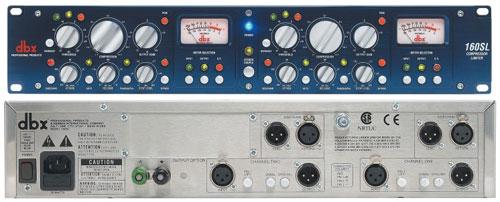 DBX 160 SL stereo Kompressor/Limiter