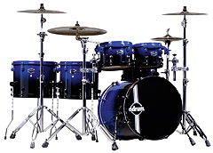 DDrum Dominion Mpl Black Blue Duo-Fade
