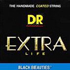 DR Black Beauties BKE-11/50 E-Gitarren Saiten Satz Heavy