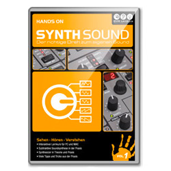 DVD Lernkurs Hands On Synthsound