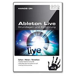 DVD Lernkurs Hands on Ableton Live Vol.1 Grundlagen und Einführung