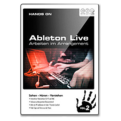 DVD Lernkurs Hands on Ableton Live Vol.2 Arbeiten im Arrangement