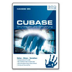 DVD Lernkurs Hands on Cubase Vol. 1 Einführung