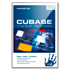DVD Lernkurs Hands on Cubase Vol. 2 MIDI und Editing