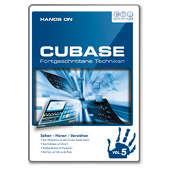 DVD Lernkurs Hands on Cubase Vol. 5 Fortgeschrittene Techniken
