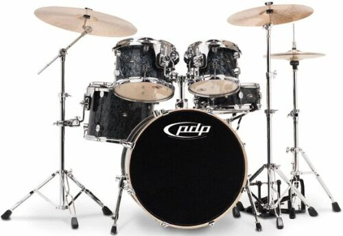 DW PDP CX Drumset Black Onyx
