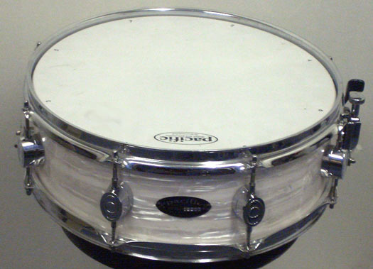 DW Pacific 14 x 5,5 Snare weiss