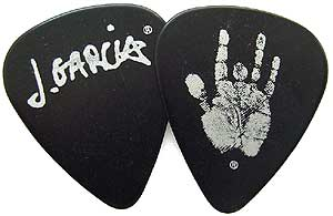 Daddario Plectren Set Jerry Garcia heavy black