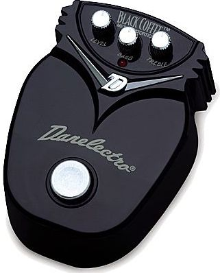Danelectro DJ-21 Black Coffee Metall Distortion