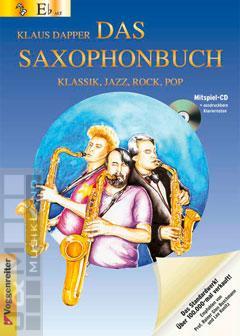 Das Saxophonbuch (Version Eb) - Klaus Dapper mit CD