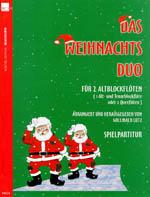 Das Weihnachtsduo für 2 Altflöten