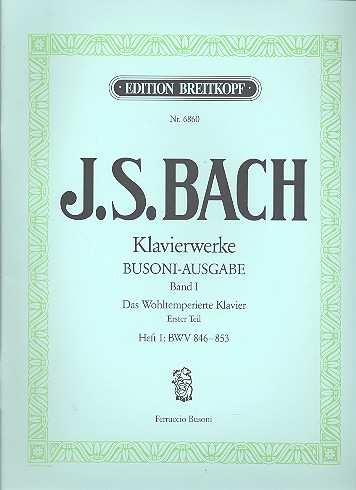 Das Wohltemperierte Klavier Bd.1 / Heft I