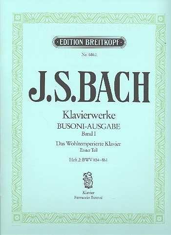 Das Wohltemperierte Klavier Bd.1 / Heft II