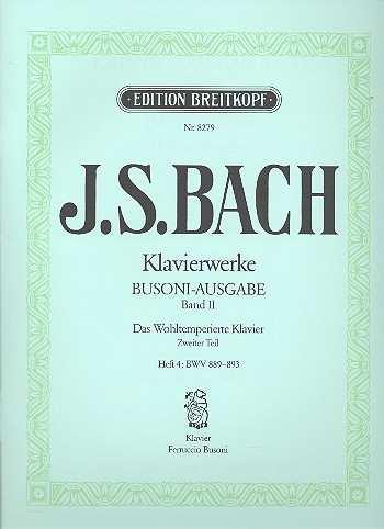 Das Wohltemperierte Klavier Bd.2 / Heft III  EB8279