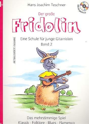 Der große Fridolin (+CD) für Gitarre