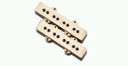 DiMarzio Model J Neck & Bridge Set DP123CR