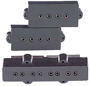 DiMarzio Model P+J Neck & Bridge Set DP126