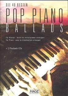 Die 40 besten Pop Piano Ballads mit 2 CDs