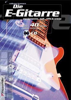 Die E-Gitarre - Volkmar Kramarz mit CD