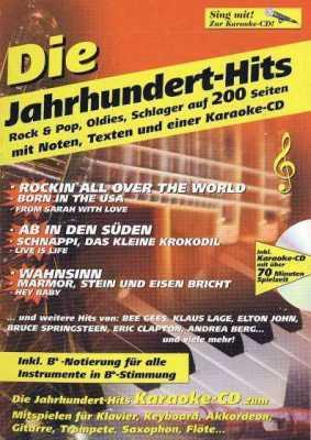 Die Jahrhundert-Hits (+CD) Karaoke CD