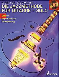 Die Jazzmethode für Gitarre - Solo + CD ED8427