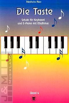 Die Taste 4 Keyboardschule